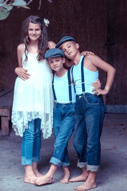 Foto Shop Aufrichtung Kinder und Jugendliche
